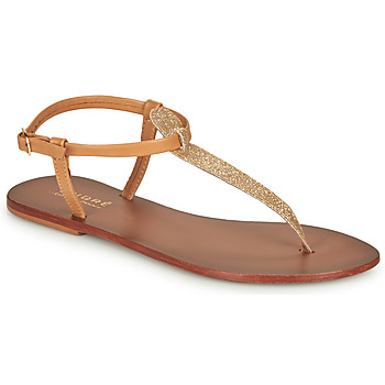 Zapatos Mujer Sandalias André GLITTER Camel