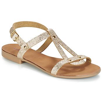 Zapatos Mujer Sandalias André TOUFOU Dorado