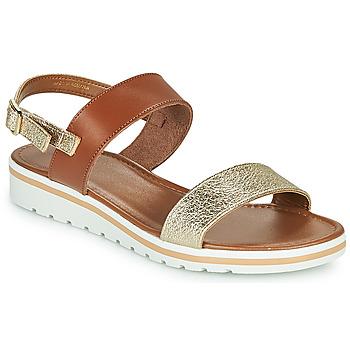 Zapatos Mujer Sandalias André ZANDORA Dorado