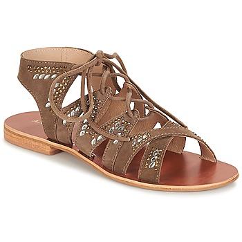 Zapatos Mujer Sandalias André MAUPITI Marrón