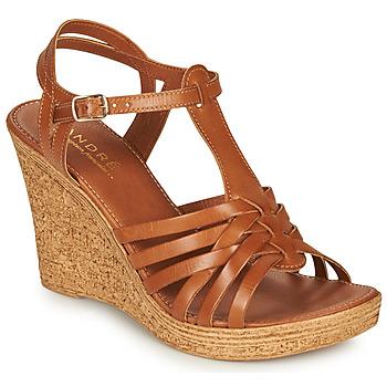 Zapatos Mujer Sandalias André FABULEUSE Camel