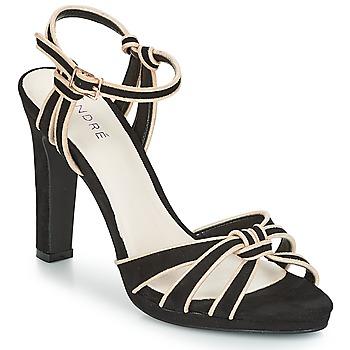 Zapatos Mujer Sandalias André ARPEGE Negro