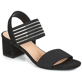 Zapatos Mujer Sandalias André CORFOU Negro