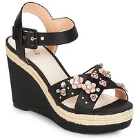 Zapatos Mujer Sandalias André IXIA Negro