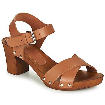 Zapatos Mujer Sandalias André BONGO Marrón