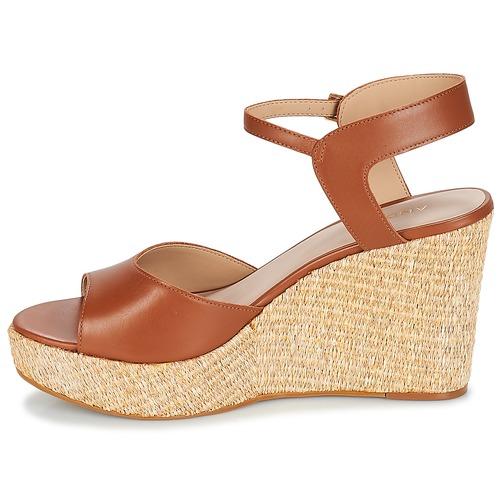 Mujer Sandalias Zapatos Bungalow André Cognac trdQsh