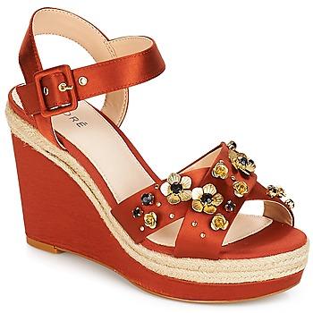 Zapatos Mujer Sandalias André IXIA Ocre