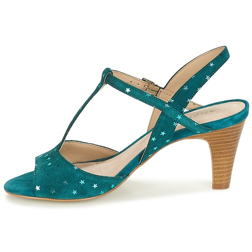 Zapatos Sandalias Bety André Turquesa Mujer PXuTOkZi