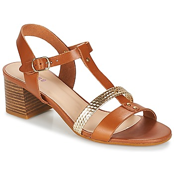 Zapatos Mujer Sandalias André ANTIGUA Camel
