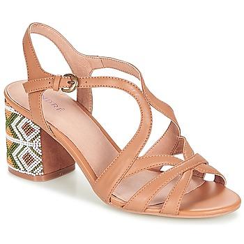 Zapatos Mujer Sandalias André SAMBA Camel