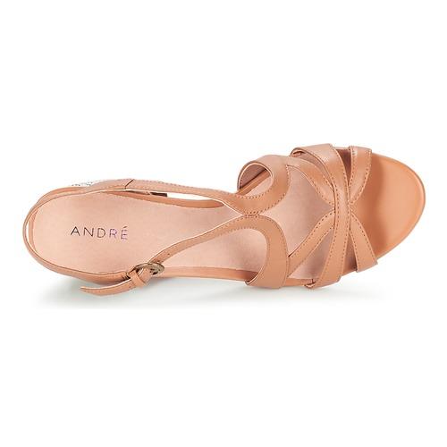 Zapatos Sandalias Mujer André Samba Camel rdhCsxtQ