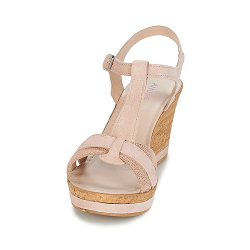 Mujer Nude Sandalias Aloe Zapatos André QWedxCBorE