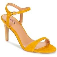 Zapatos Mujer Sandalias André SAXO Amarillo
