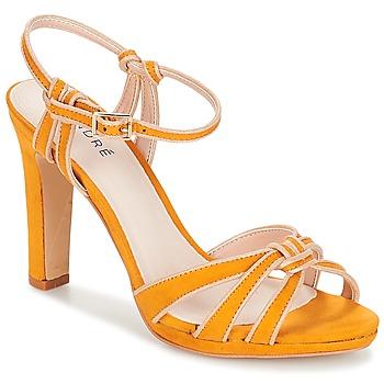 Zapatos Mujer Sandalias André ARPEGE Amarillo