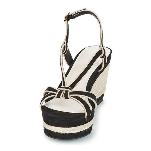 Mujer André Sandalias Negro Zapatos Tempo CodBex