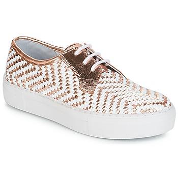 Zapatos Mujer Zapatillas bajas André NAT Dorado