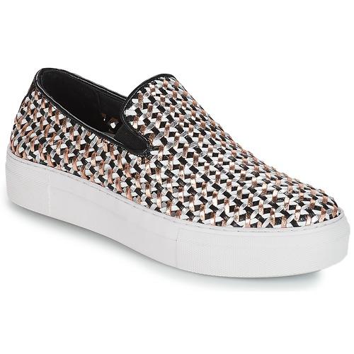 André TRESSE Negro - Envío gratis | ! - Zapatos Slip on Mujer