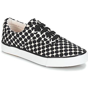 Zapatos Mujer Zapatillas bajas André FUSION Pois / Negro