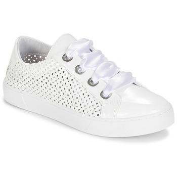 Zapatos Mujer Zapatillas bajas André BEST Blanco