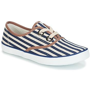 Zapatos Mujer Zapatillas bajas André MELON Azul