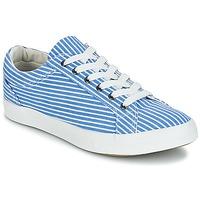 Zapatos Mujer Zapatillas bajas André SESAME Rayas / Azul