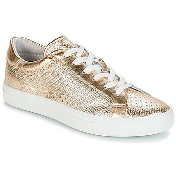Zapatos Mujer Zapatillas bajas André FELICIA Dorado