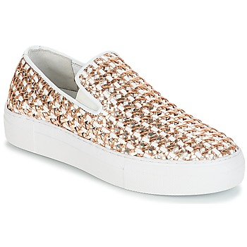 Zapatos Mujer Slip on André TRESSE Dorado