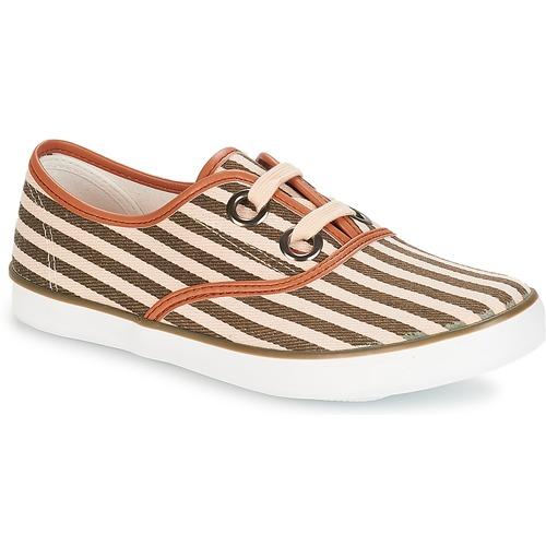 Zapatos Mujer Zapatillas bajas André MELON Kaki