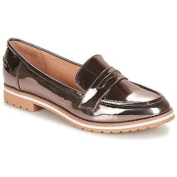 Zapatos Mujer Mocasín André PORTLAND Plateado