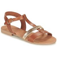 Zapatos Mujer Sandalias André CAYO COCOS Camel
