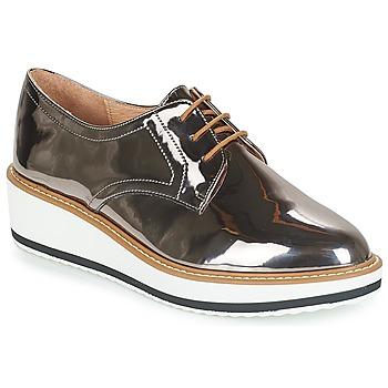 Zapatos Mujer Derbie André CHICAGO Plateado