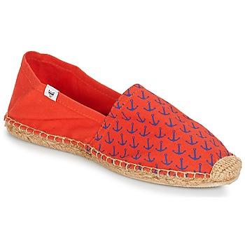 Zapatos Hombre Alpargatas André OHE MATELOT Rojo
