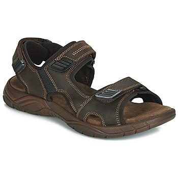 Zapatos Hombre Sandalias André MIAMI Marrón