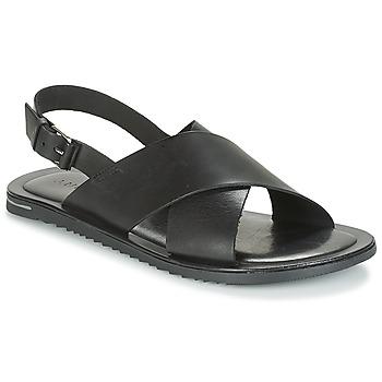 Zapatos Hombre Sandalias André SILVIO Negro