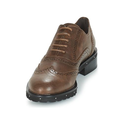 Zapatos Derbie Mujer Marrón Chattawak Amelia srhdtQC