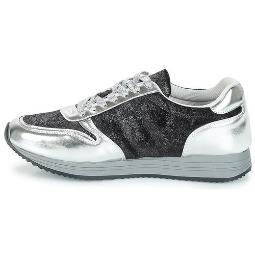 Mujer Bajas Zapatos Cesena Zapatillas Chattawak Negro jL4R5A3