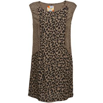 textil Mujer vestidos cortos Chipie RITA Beige