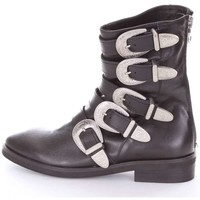 Zapatos Mujer Botines Gisel Moire GISEL  Botín Mujer negro negro