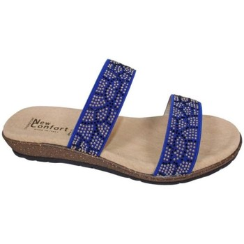 Zapatos Mujer Zuecos (Mules) New Confort 26657 azul azul