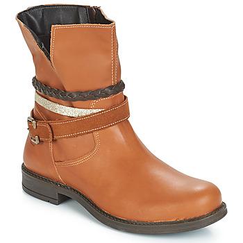 Zapatos Niña Botas de caña baja Citrouille et Compagnie FURAMO Camel