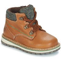 Zapatos Niño Botas de caña baja Citrouille et Compagnie JOBA Marrón