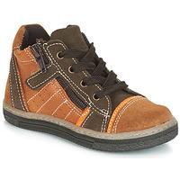 Zapatos Niño Zapatillas altas Citrouille et Compagnie JESSICA Camel