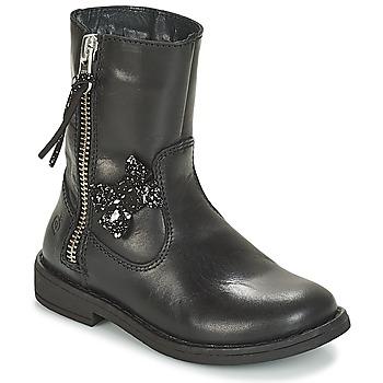 Zapatos Niña Botas de caña baja Citrouille et Compagnie JARINDA Negro