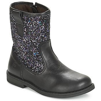 Zapatos Niños Botas de caña baja Citrouille et Compagnie JUCKER Negro