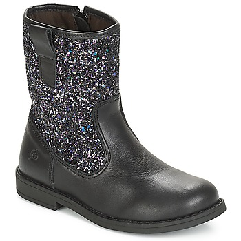 Zapatos Niña Botas urbanas Citrouille et Compagnie JUCKER Negro