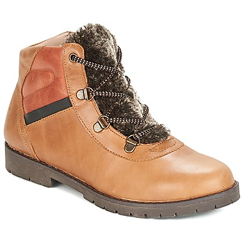 Zapatos Niño Botas de caña baja Citrouille et Compagnie JODILAEM Cognac