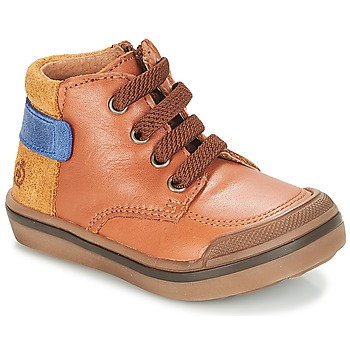 Zapatos Niño Botas de caña baja Citrouille et Compagnie JOUIZAE Camel / Amarillo