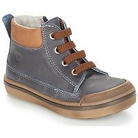 Zapatos Niño Botas de caña baja Citrouille et Compagnie JIK Azul / Cognac
