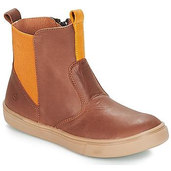 Zapatos Niño Botas de caña baja Citrouille et Compagnie JRYNE Camel / Amarillo