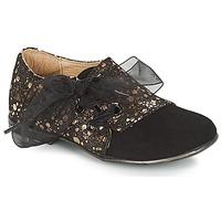 Zapatos Niña Derbie Citrouille et Compagnie JETTRA Negro / Bronce
